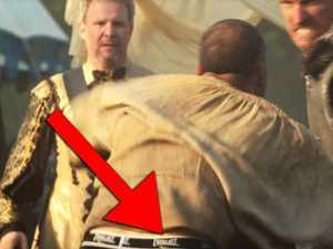 Odd clothing spotted in TV show set in Middle Ages
