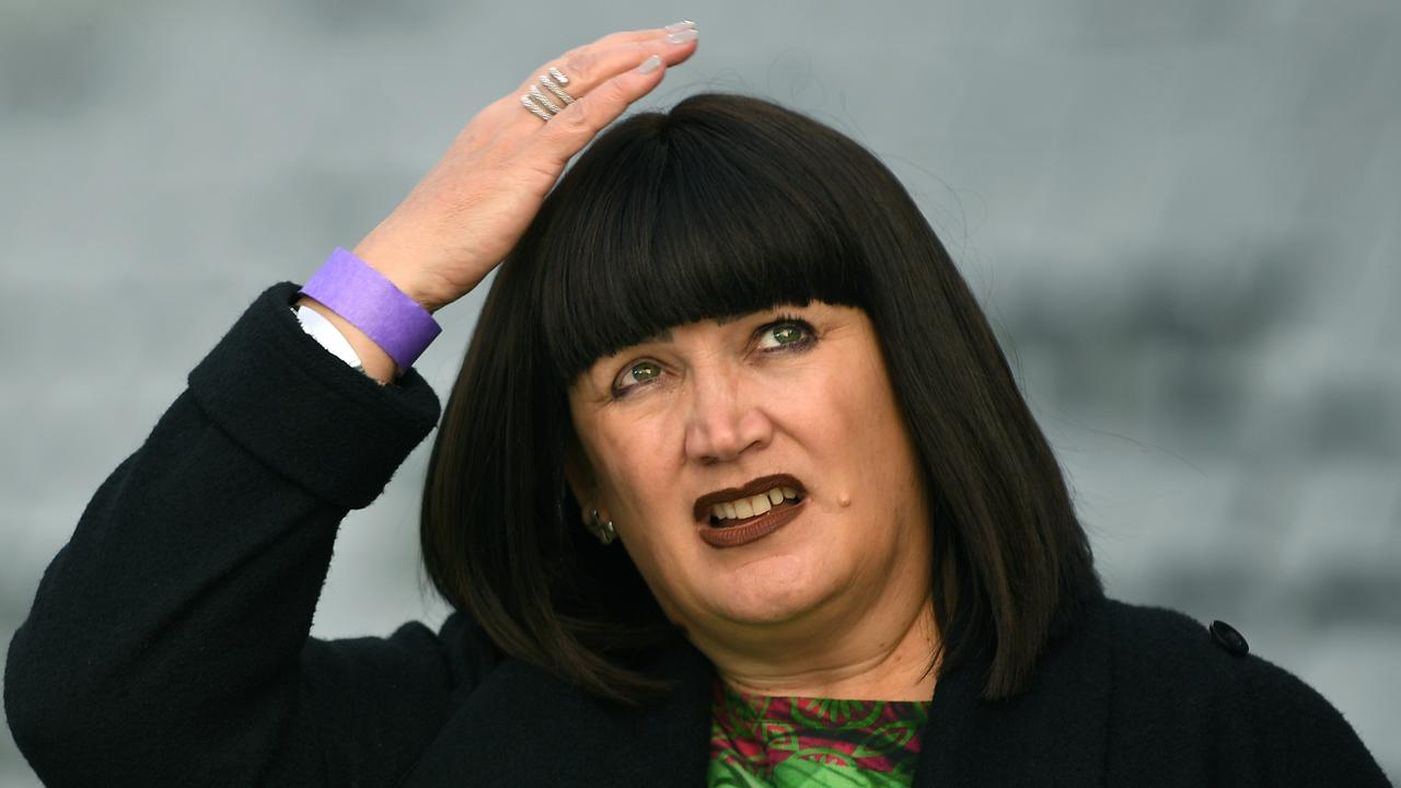 Raelene Castle has been locked in a war of words with Michael Cheika.