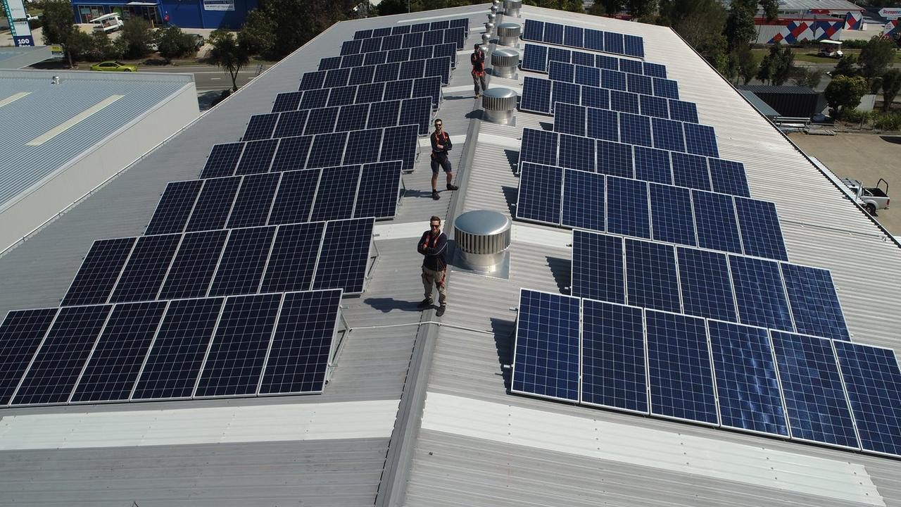 SOLAR SURGE: Noosa business is helping sustainable power go through the roof with assistance from ZEN.