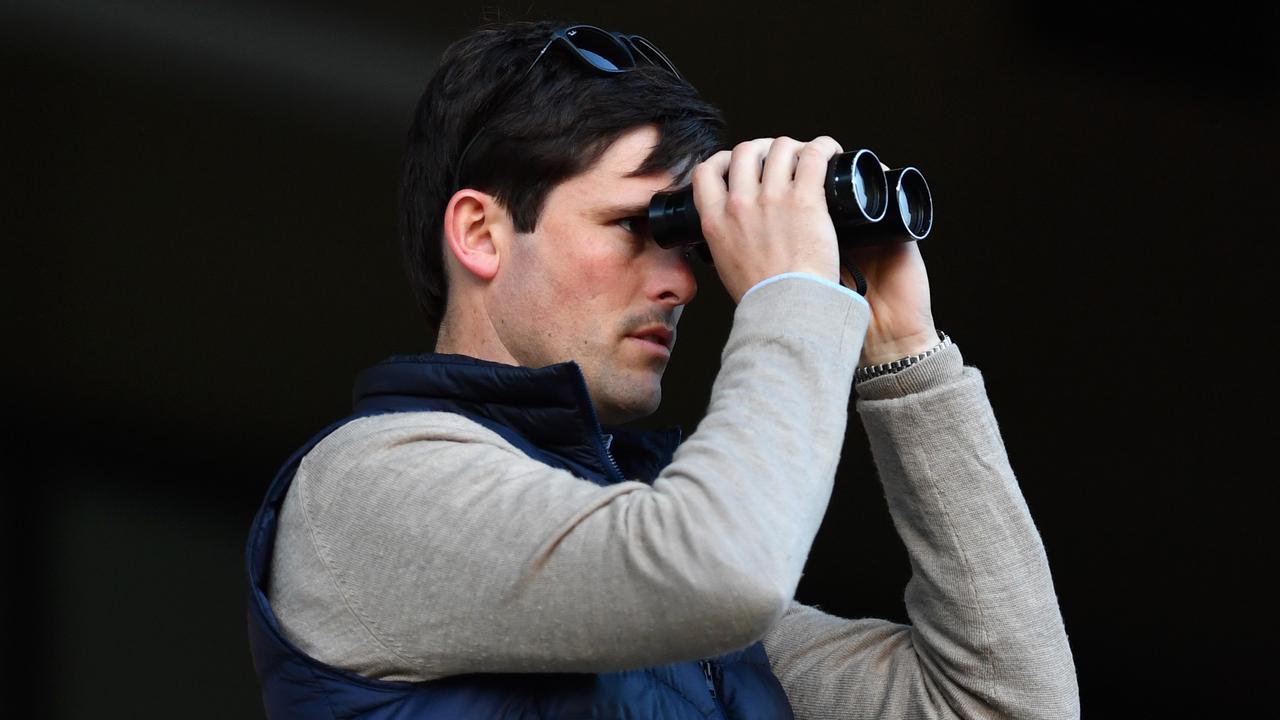 Trainer James Cummings. Picture: AAP