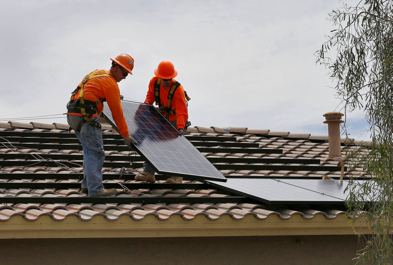 The NSW Government's free solar roll-out scheme is being trialled across the state.
