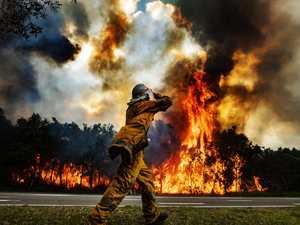 Residents return home after bushfire tears through Peregian