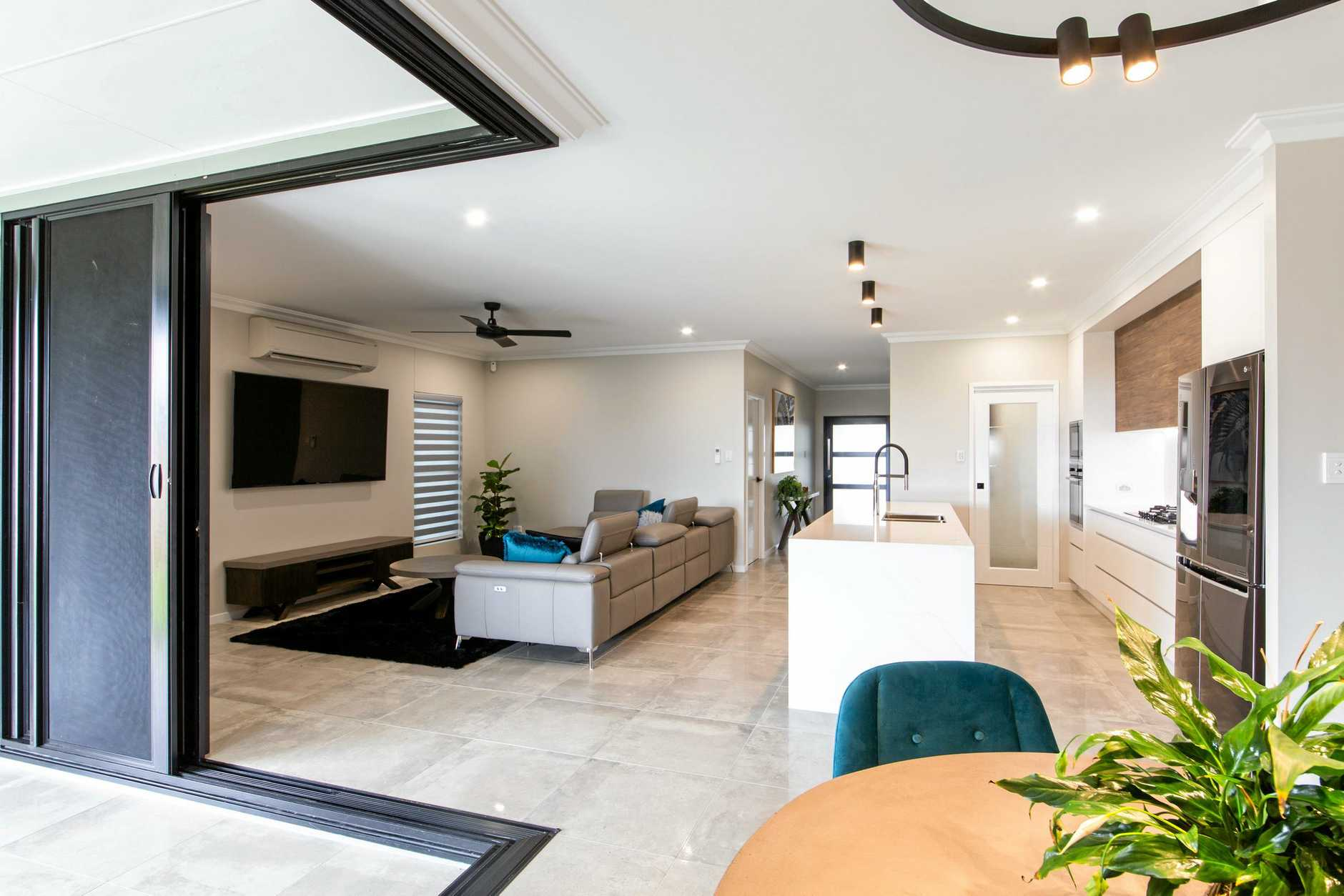Fergus Builder's winning entry, Ella, won the display home $315,000 - $450,0000 catagory at the Master Builders Housing & Construction Awards 2019.
