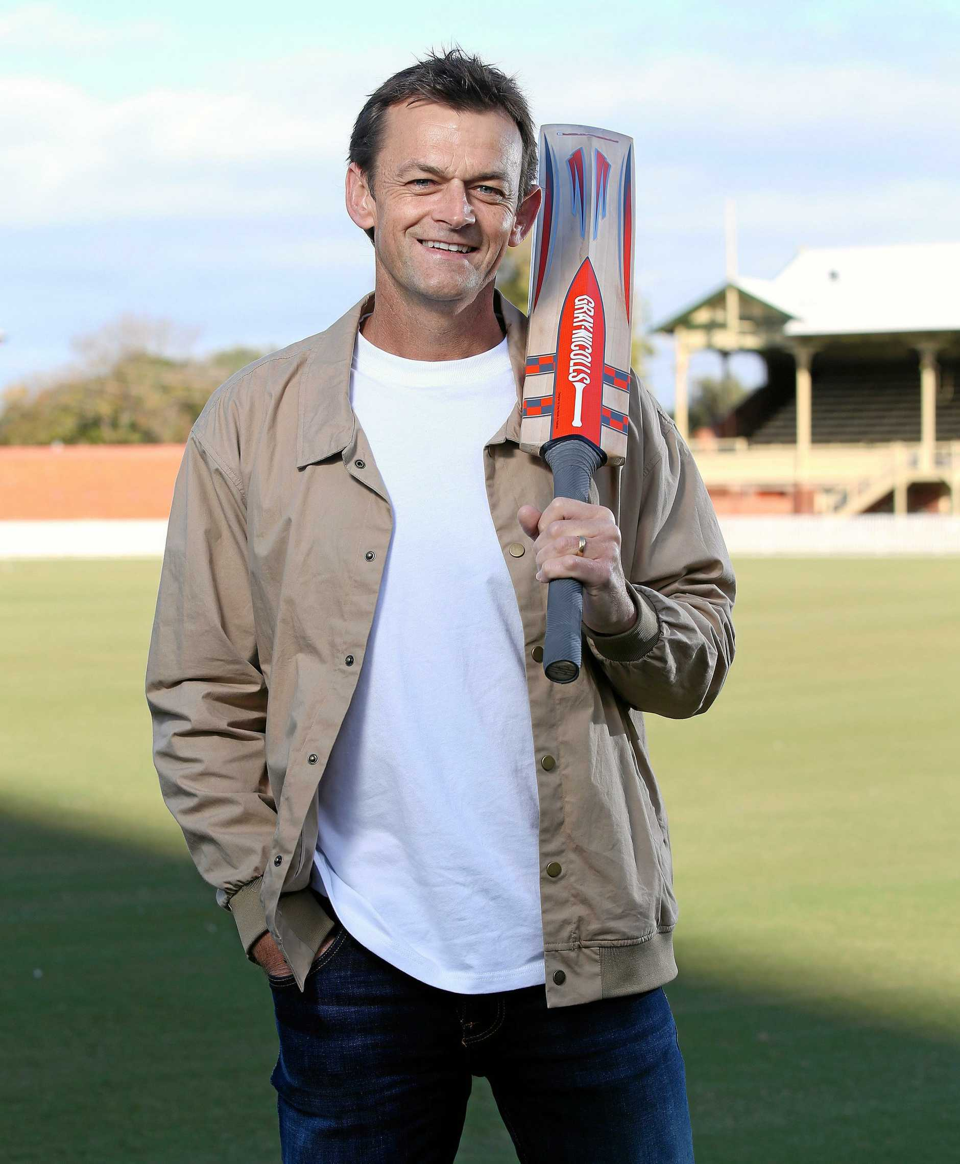 *WARNING EMBARGOED for the November 15 cover of The Guide* Adam Gilchrist returns as part of the Fox Cricket commentary team.