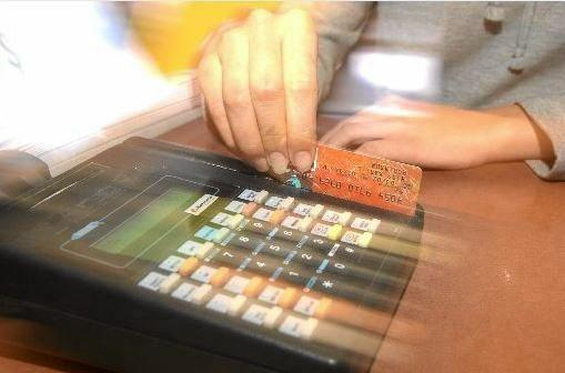 The mum used the card to buy a number of electronic goods before she was busted.