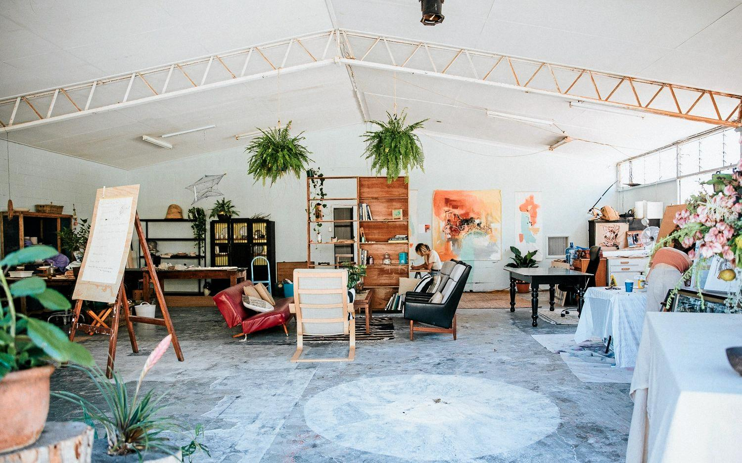 Mint Art House is the Gold Coast's newest artist-run studio, gallery and event space, hosting art classes, workshops and immersive art events and open to the public.
