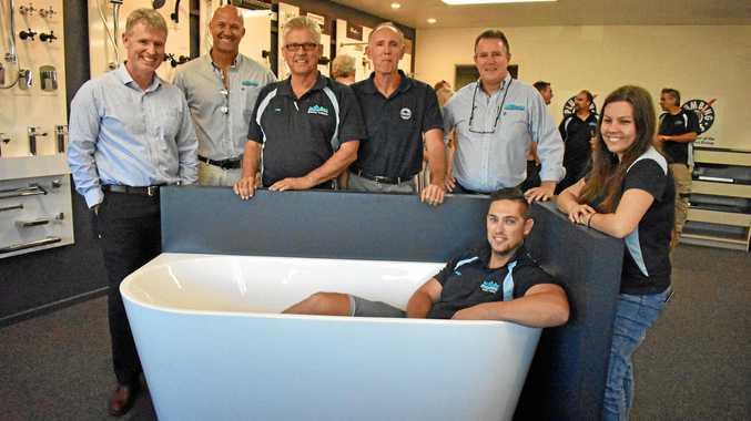 First plumbing showroom opens in Casino