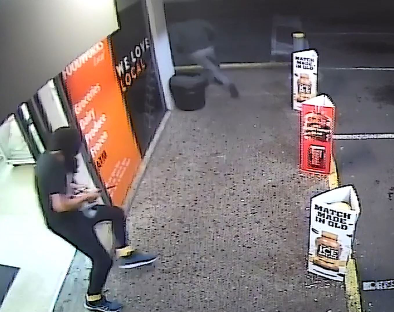 Two men are wanted for the armed robbery of a Kawana supermarket on Sunday night. PHOTO: Queensland Police.