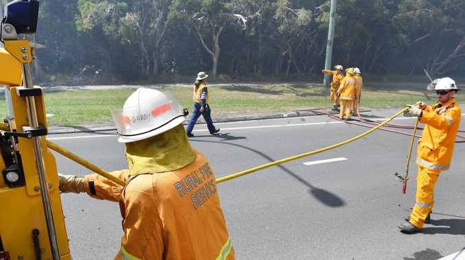 Investigation launched into cause of Peregian bushfire