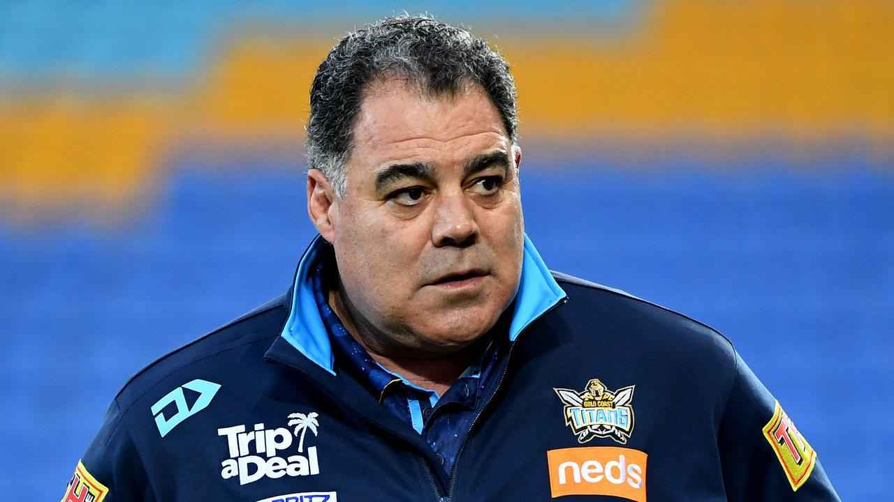 Mal Meninga has promised to see out his contract. Picture: AAP/Dave Hunt