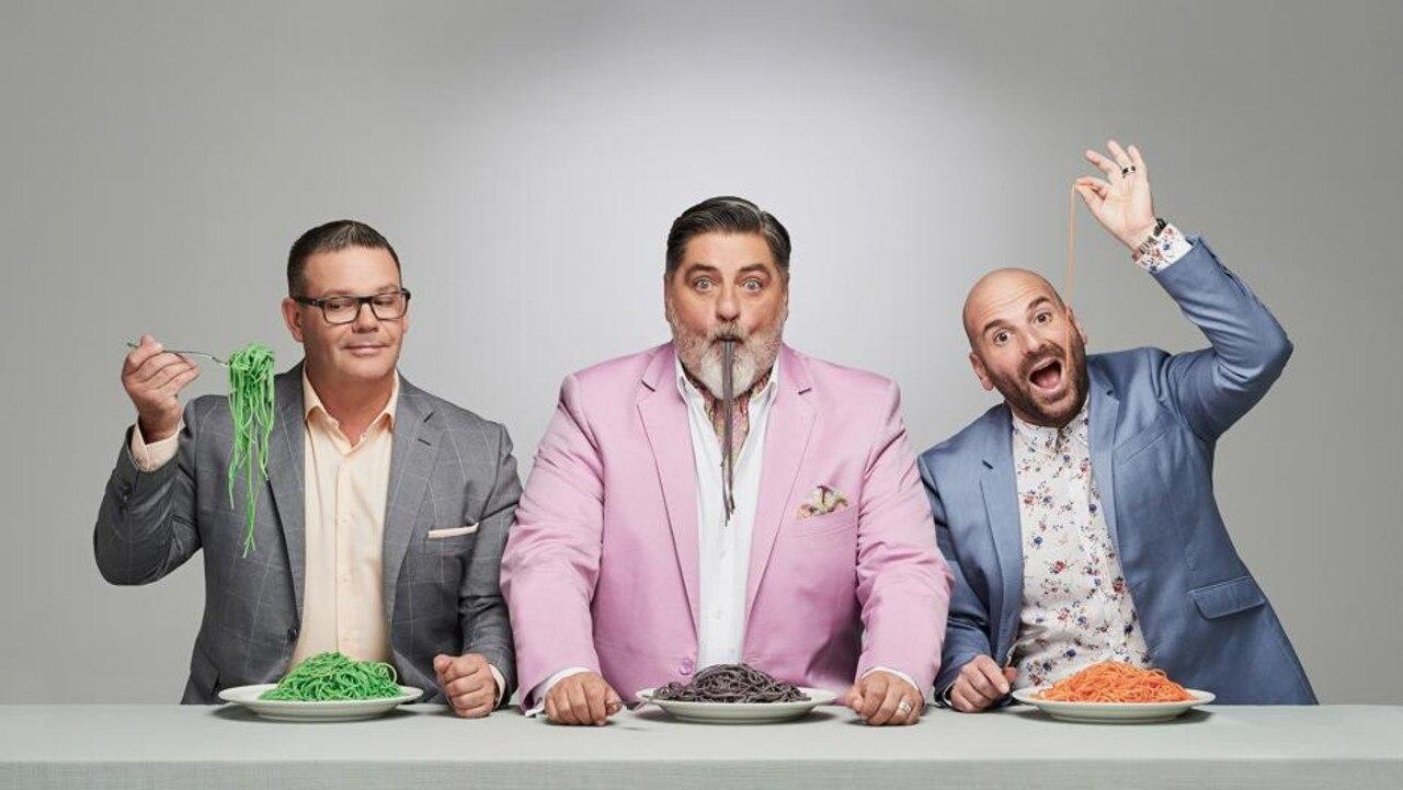 Ex-MasterChef judges Gary Mehigan, Matt Preston and George Calombaris.