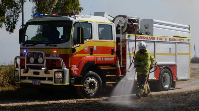 WARNING: Residents alerted to major blaze