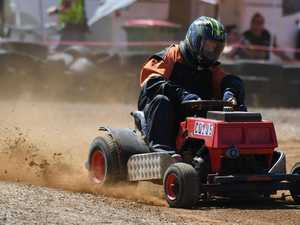 Mowers, dirt karts light up Yaamba track