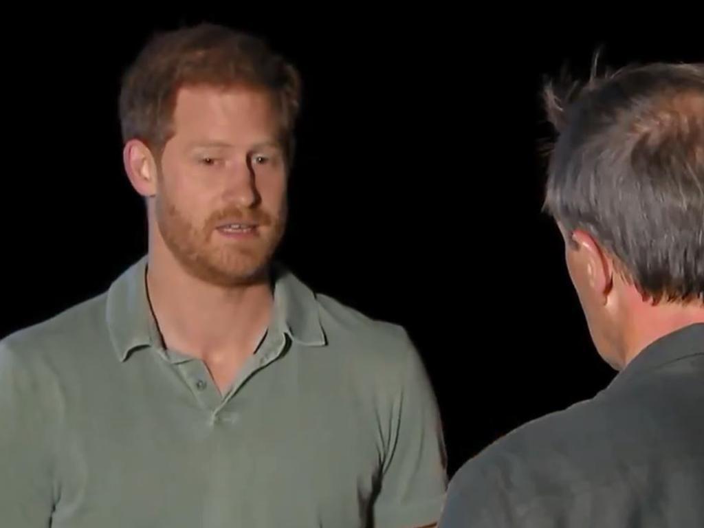 Prince Harry's words suggested he was suffering from a kind of post-traumatic stress disorder, writes Jim Mitchell. Picture: ITV