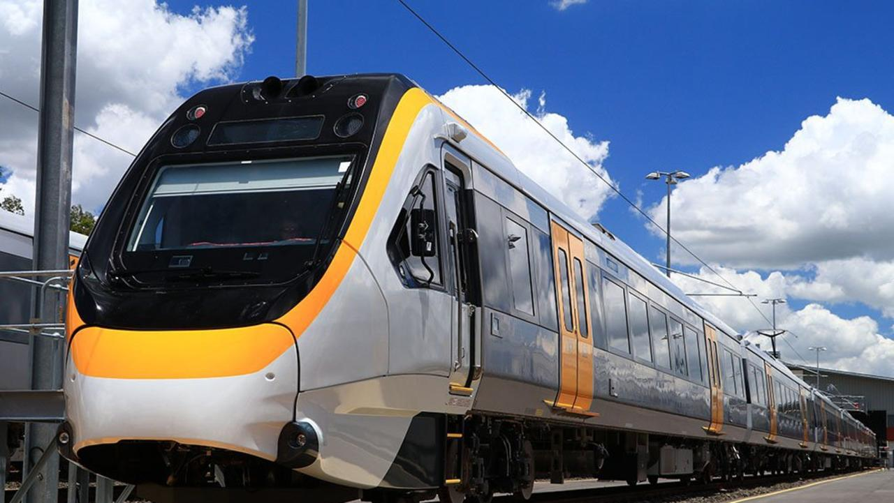 A New Generation Rollingstock (NGR) train.
