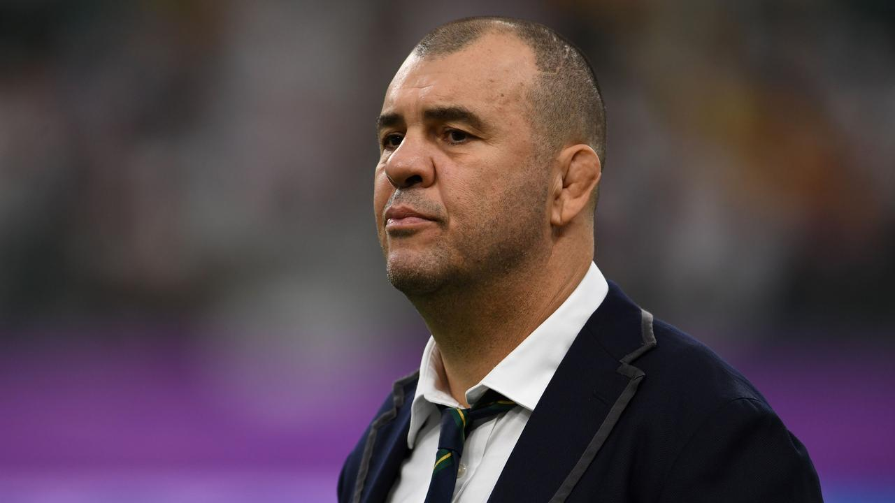 Cheika and Castle had to be separated by a former player.