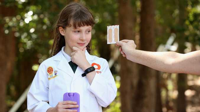 Eight year old girl's pain-free Band Aid idea a winner