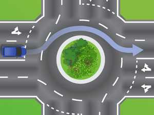 Roundabout indication question sparks road rule debate