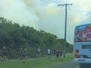 Fire reigniting 'horror' memories for Peregian