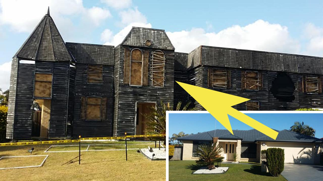 Panic on Pandora: The single level Pacific Pines home has been transformed into a two-storey horror house for Halloween.
