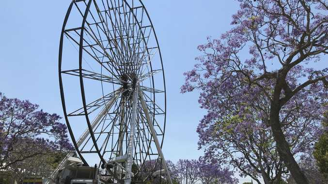 BIG O: Australia's biggest wheel goes full circle