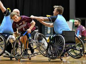 'Frantic' wheelchair sport taking off