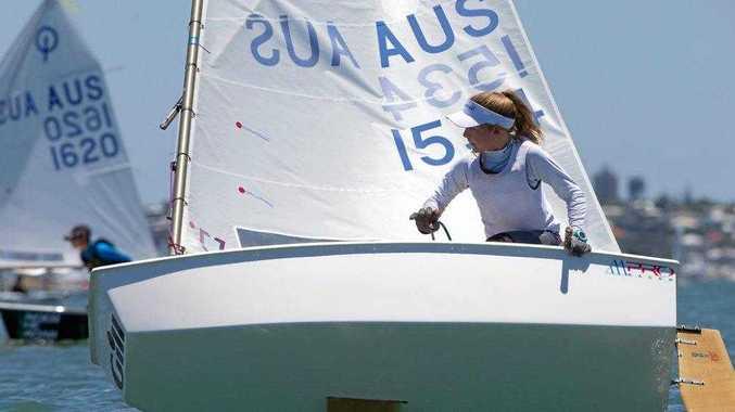 TOP 10: Impressive finish by junior sailor
