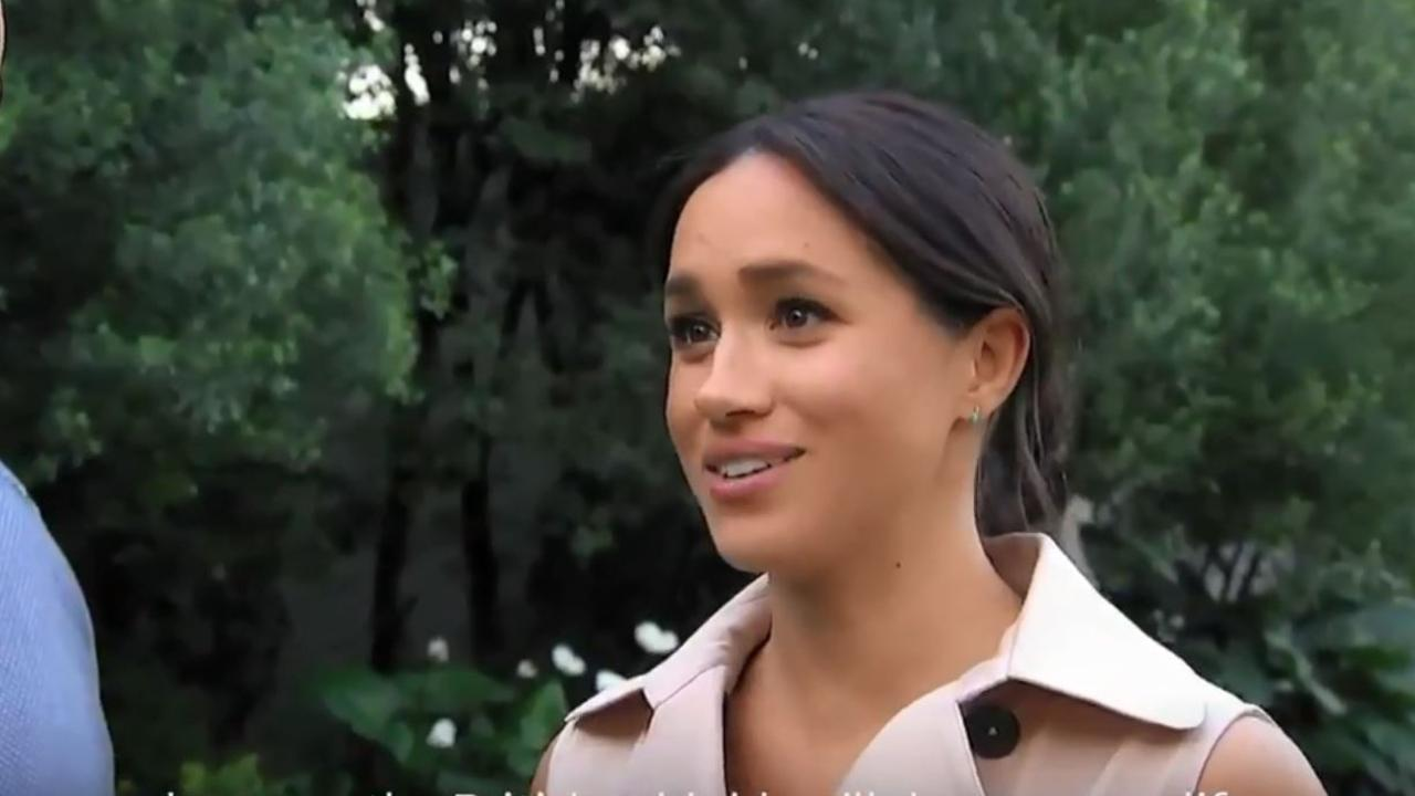 Meghan described her struggles on the explosive documentary. Picture: ITV