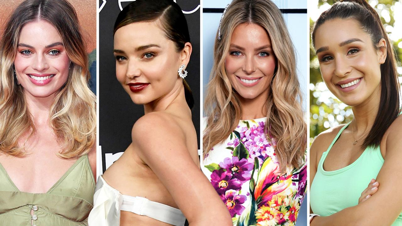 Margot Robbie and Jennifer Hawkins made their rich list debut this year, while Miranda Kerr and Kayla Itsines again earned a place.