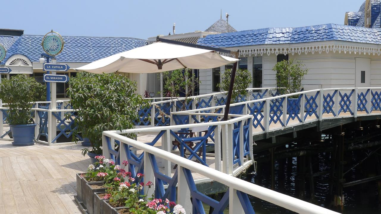 The high-end restaurant La Rosa Nautica that sits over a pier in the Pacific Ocean has been slapped with a hefty fine.