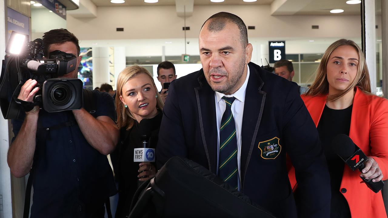 Cheika has been the centre of attention since returning empty-handed from the World Cup.