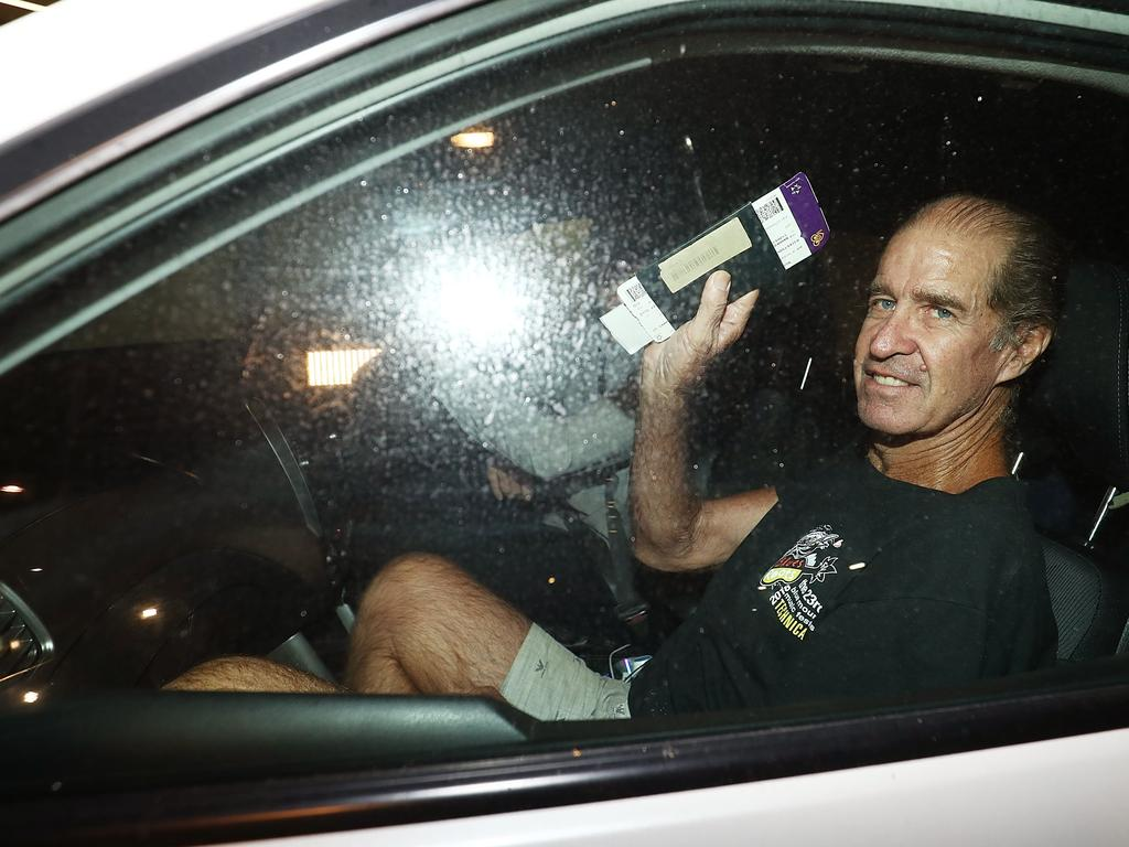 James Ricketson was sentenced to six years in a Cambodian prison for espionage before being granted a royal pardon. Picture: Getty Images