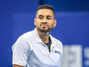 'Say it to my face': Kyrgios' fiery clip