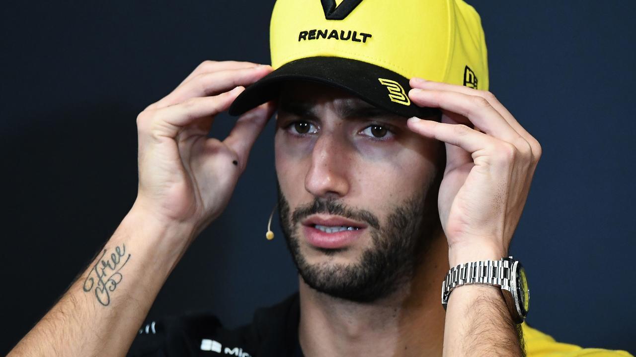 Life keeps getting harder for Daniel Ricciardo.