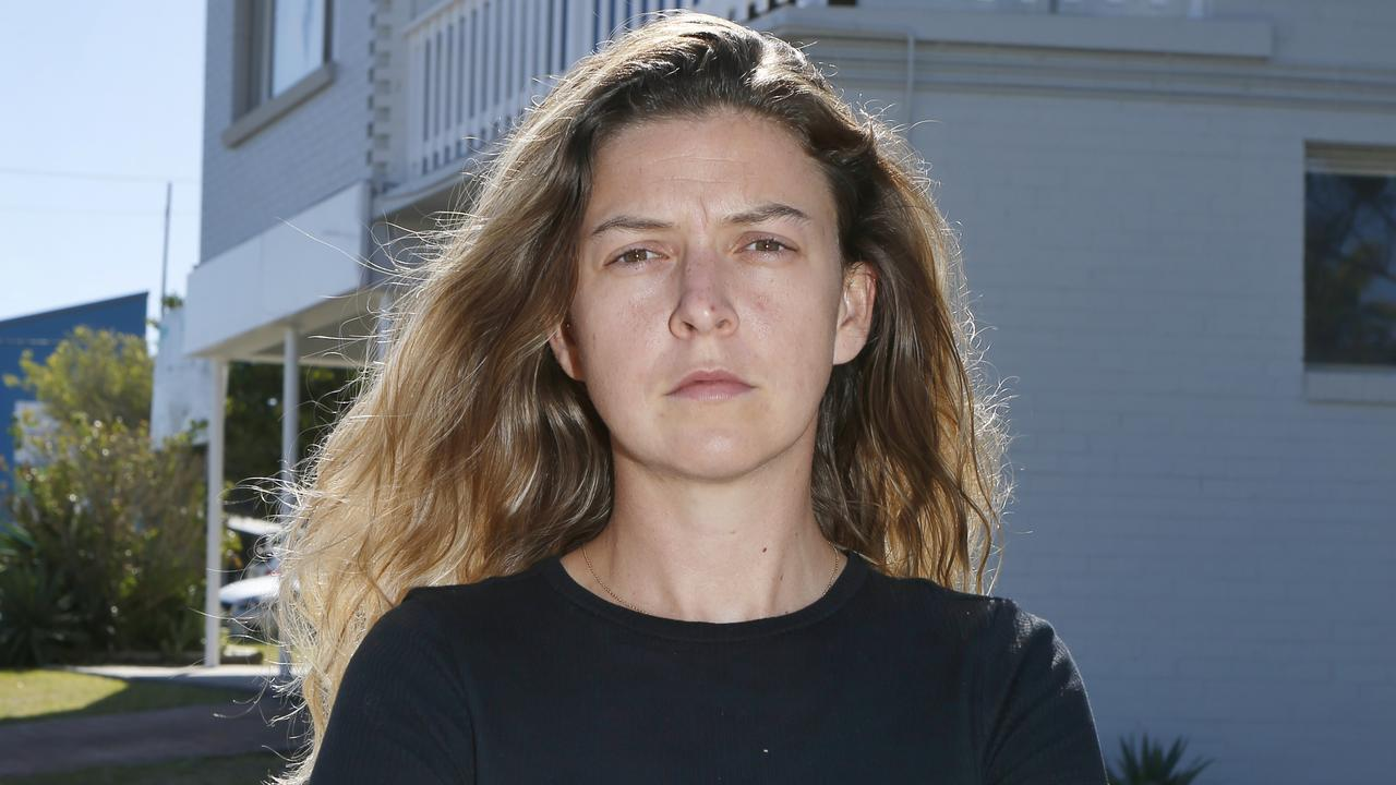French national Chloe Dulys and her roommates were terrified to learn intruders broke into their house while they were asleep and stole their car. Picture: Richard Mamando