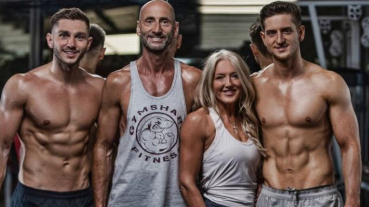 The McGillivray family lost a combined six and a half stone after taking up a gruelling fitness regimen