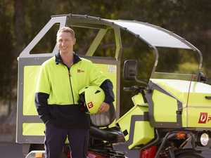 Electric vehicles delivering Queensland's holiday mail