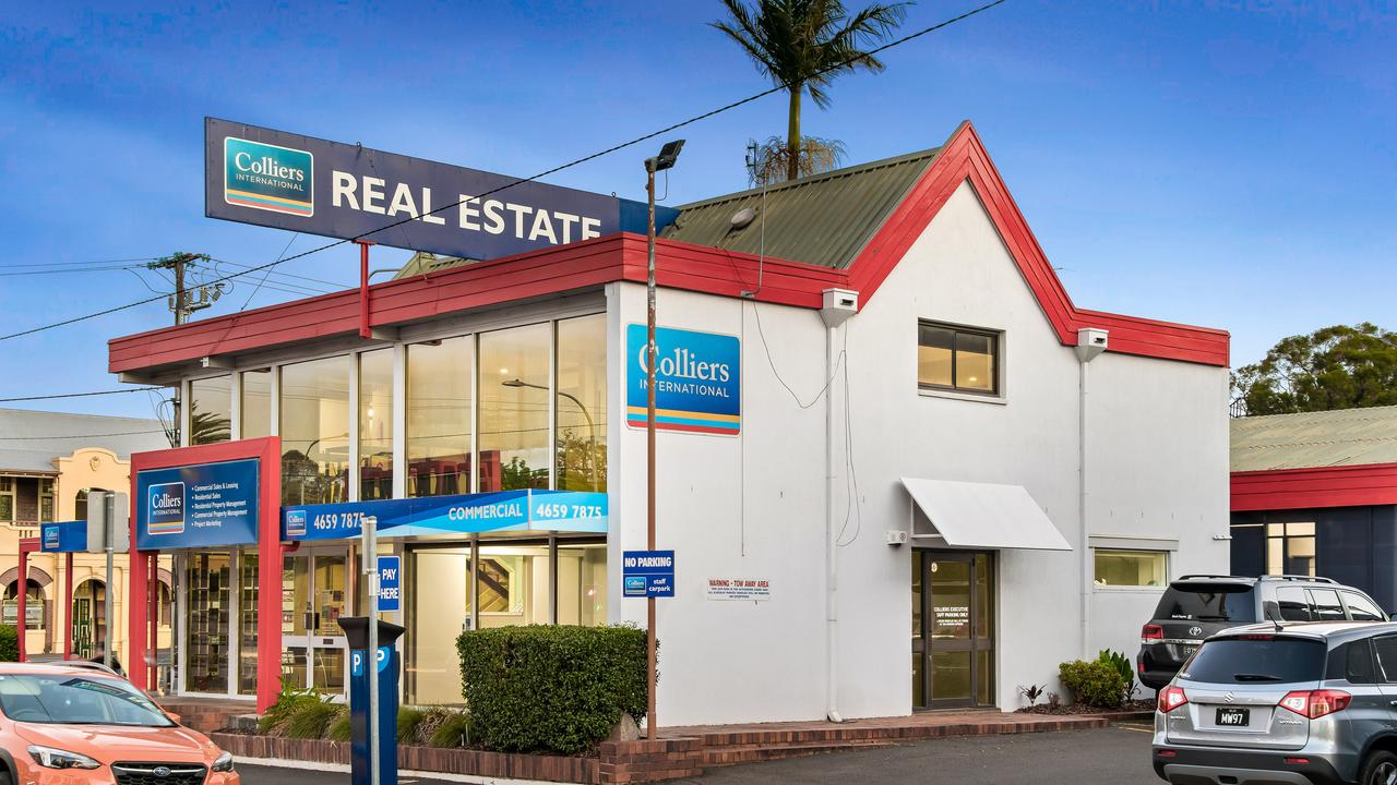 FOR SALE: Colliers International has brought the corner of Margaret and Hume Sts in the Toowoomba CBD to the market, a block on which it is a tenant.