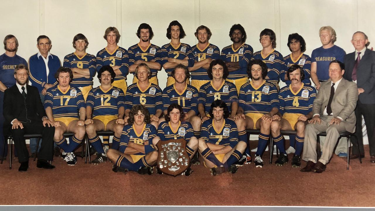 40 YEARS ON: A Grade premiership winning side from 1979.