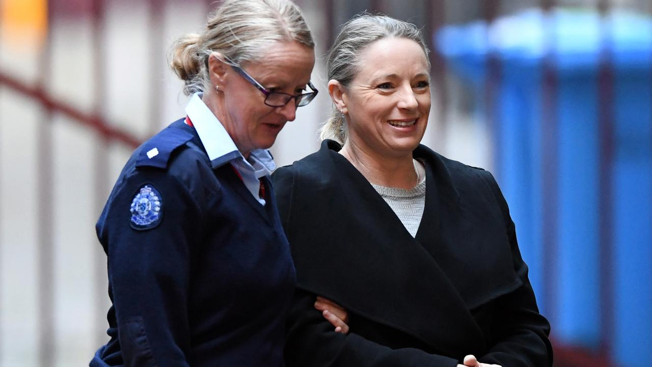 Robyn Lindholm arrives at the Supreme Court of Victoria in September 2019.