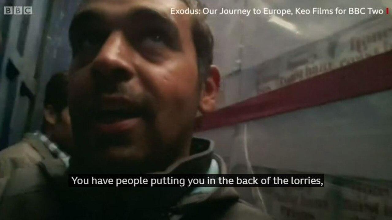 Ahmad Al-Rashid. Picture: BBC