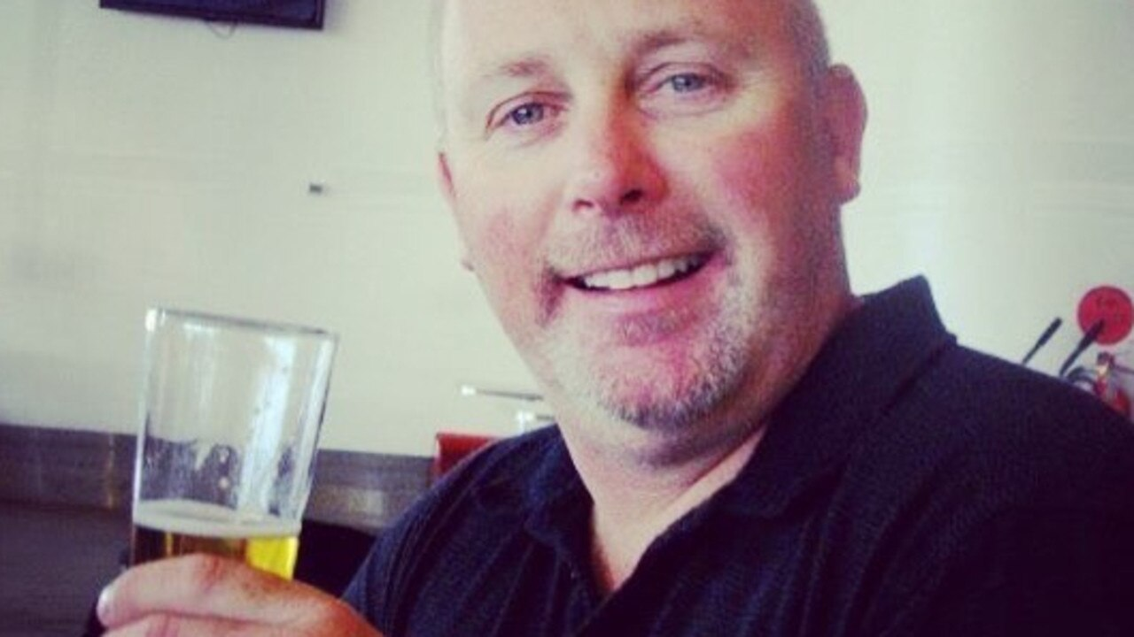 Dean Sanderson was killed and his wife Shannon was injured after the zip-line snapped. Picture: Supplied by Family