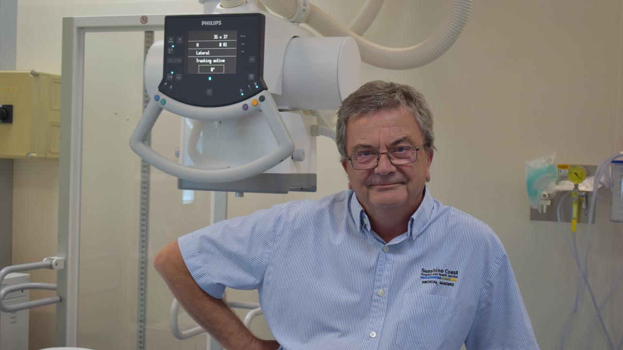 Radiographer at Gympie Hospital Brian Dalziell.