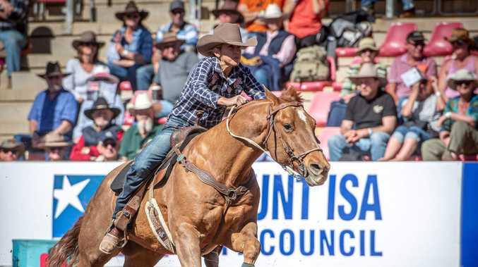 Huddy on home stretch for barrel racing Australian champion