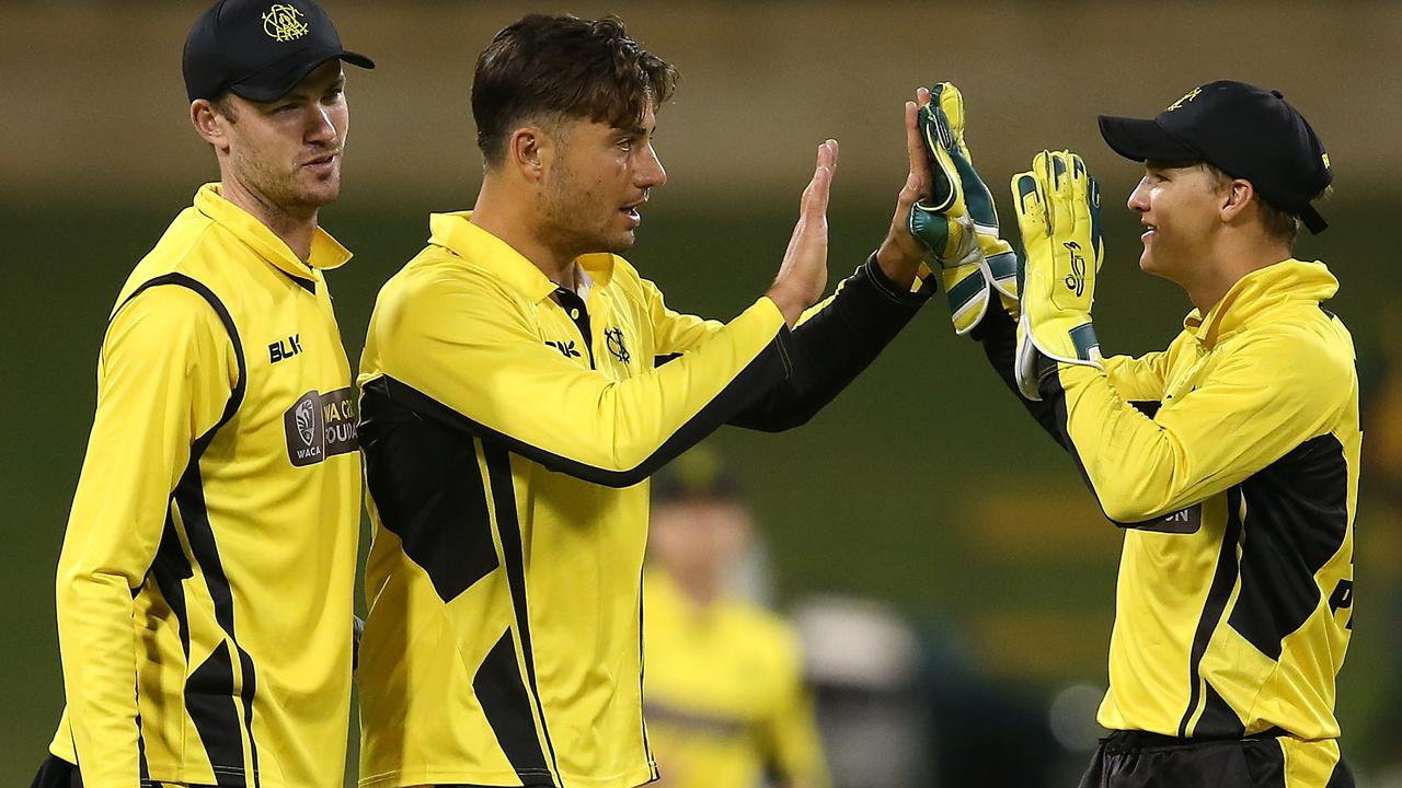Marcus Stoinis helped keep Victoria in check.
