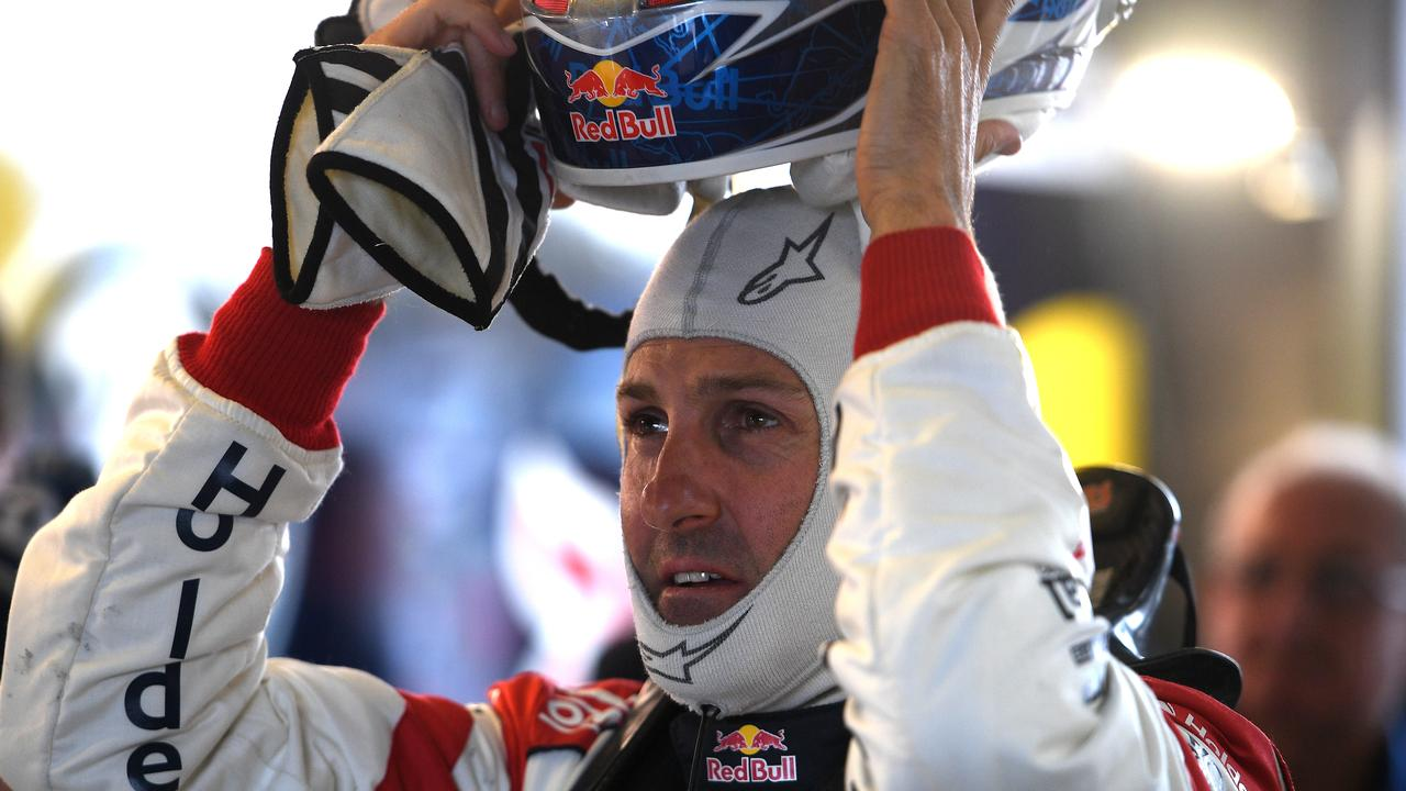 Jamie Whincup says he doesn't want to go past his 'use-by date' in Supercars. Picture: AAP