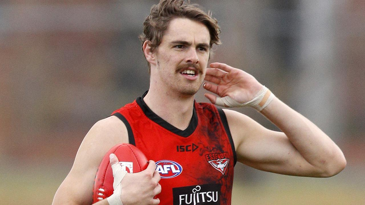 Joe Daniher during an Essendon Football Club training session.