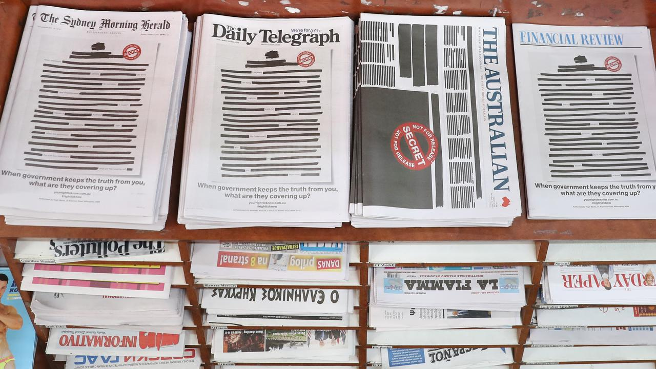RIGHT TO KNOW: Country wide, newspapers and media outlets have come together to raise concerns about government censorship in journalism. Picture: Richard Dobson
