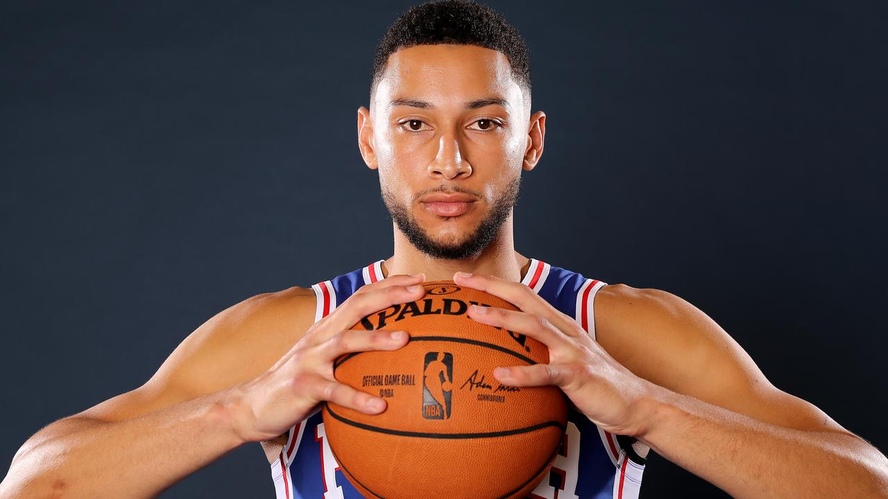 Ben Simmons has reignited his racism claims. Picture: Elsa/Getty Images