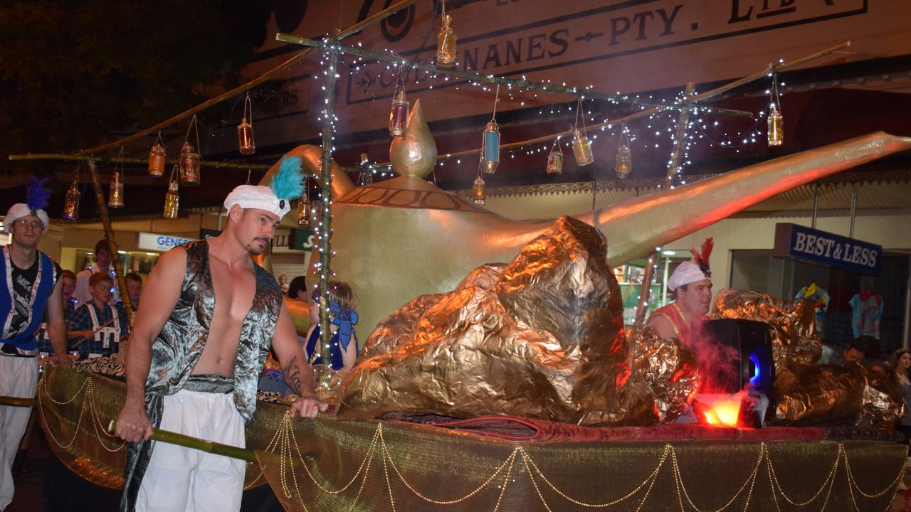 Gympie Gold Rush Twilight Parade in Mary St, Friday October 18, 2019.